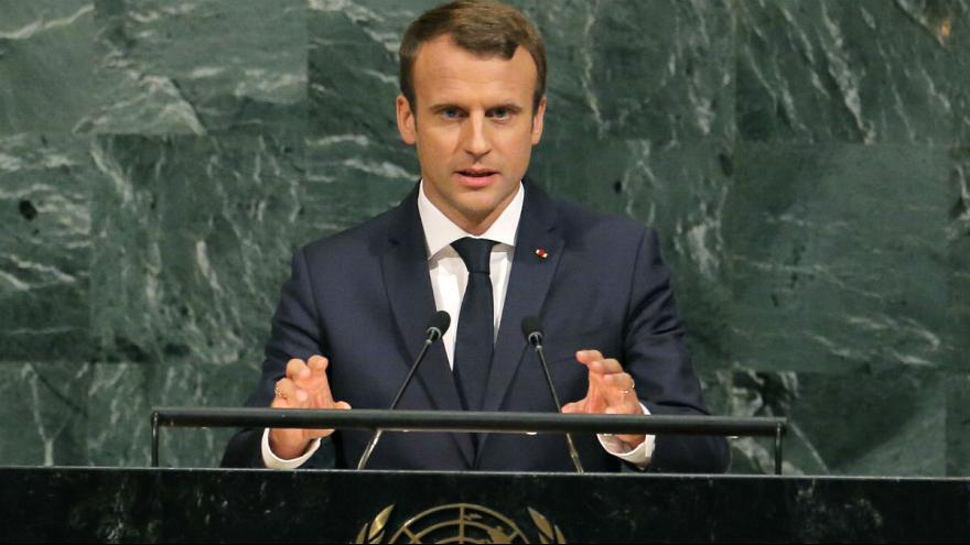 Discours de Président France Emmanuel Macron  a L'assemblée Général de L'ONU