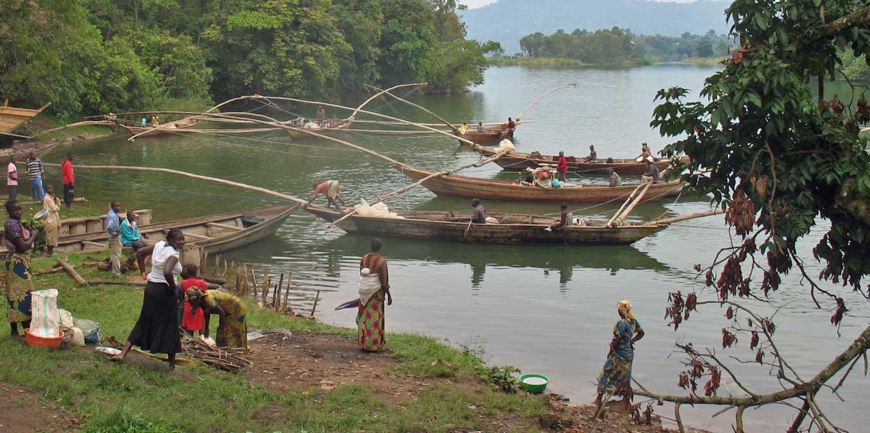 Nord-Kivu : Au moins 3 tonnes de poissons emportés par l'armée ougandaise à Mahigha (Beni)