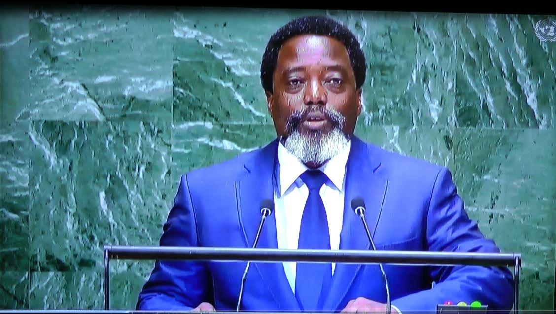 AG de l'ONU : J. Kabila exige le retrait de la MONUSCO… 3 mois avant son propre départ!