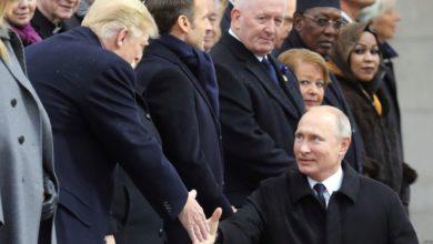 Photo of Poutine affirme avoir eu une «bonne» conversation avec Trump à Paris (AFP via VOA-Afrique)