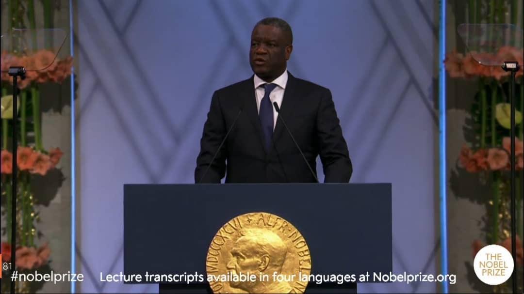 Sud-Kivu : Le Comité d'accueil de Dr Mukwege appelle à lui réserver un accueil délirant ce jeudi 27 décembre