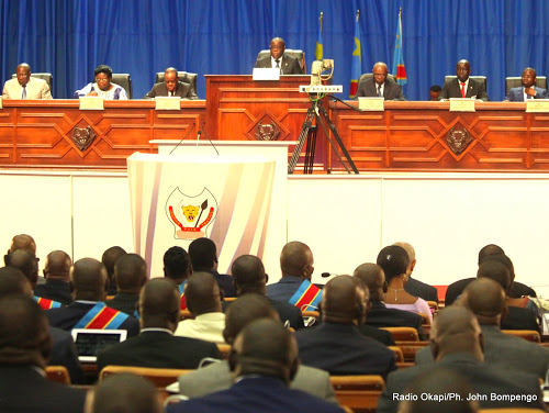 Parlement-RDC : Un seul point au menu de la première plénière ce lundi 28 janvier