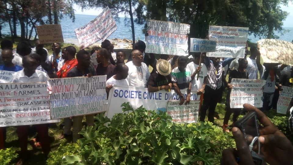 Goma : Aucun incident signalé au cours de la manifestation pacifique de la société civile