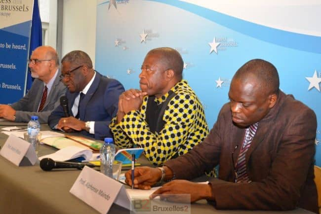 Séance de plaidoyer pour les congolais à Bruxelles