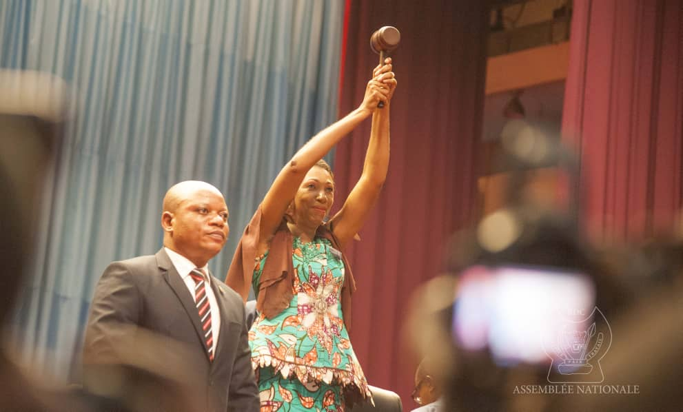 RDC : Jeanine Mabunda élue présidente de l'Assemblée Nationale