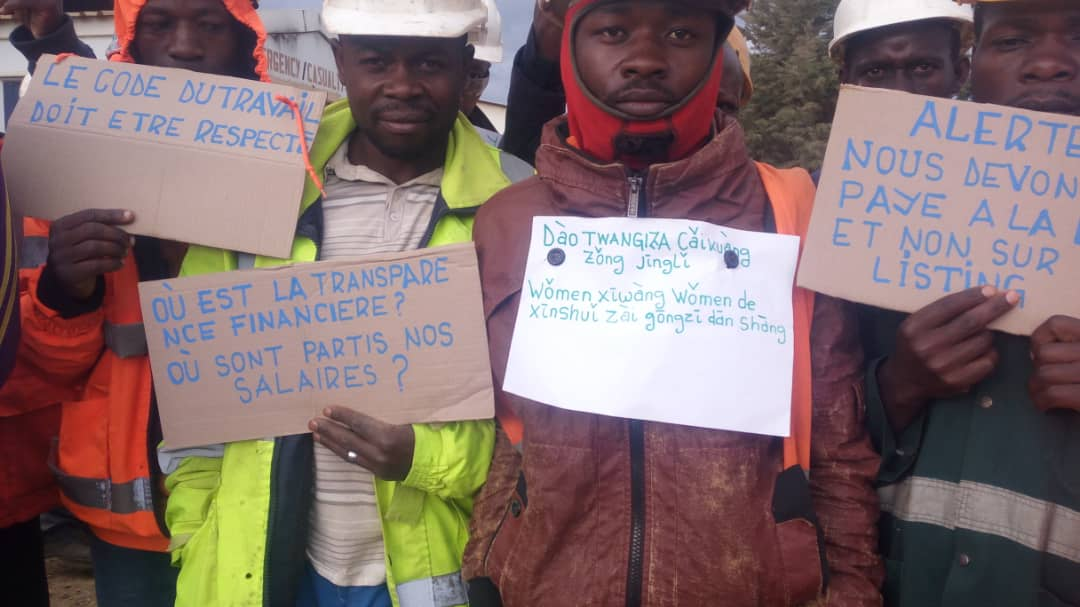 Luhwinja : Ça chauffe à la Société BANRO ce matin à Twangiza