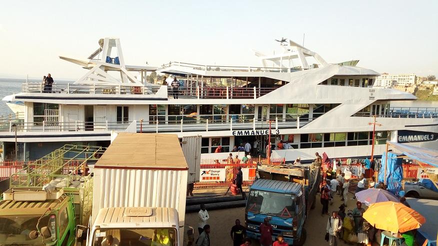 Ebola : Les bateaux interdits d'accoster à Bukavu ce matin