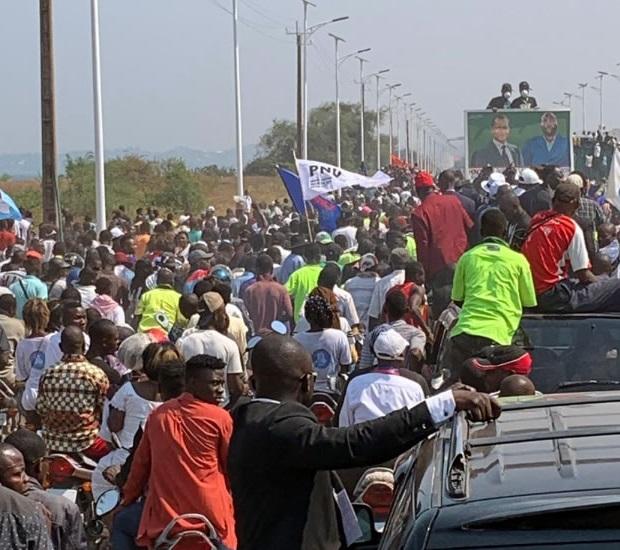 Lualaba : Moise Katumbi reçoit des ovations à Kolwezi