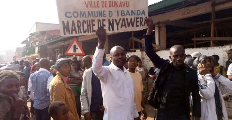 Bukavu : La société civile se réjouit de la détermination du Maire à restaurer la paix au marché de Nyawera
