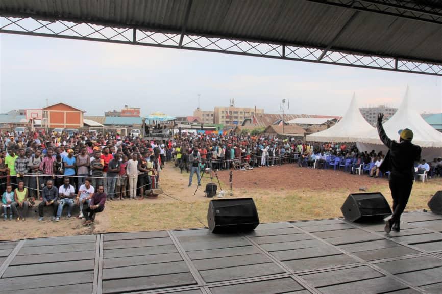 Goma: Des jeunes artistes marquent les 25 ans d'action humanitaire du CICR au Kivu