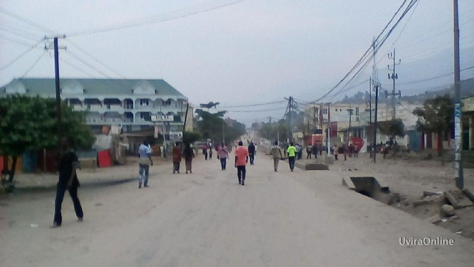 Uvira : La police arrête 3 présumés voleurs à Mulongwe