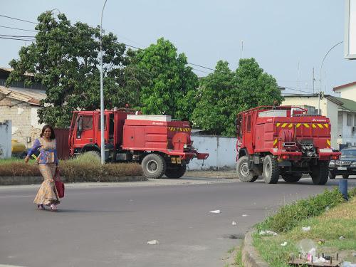 Goma :Disparu depuis quelques semaines, le camion anti-incedie de la ville est revenu à la mairie comme d'un coup d'une baguette magique