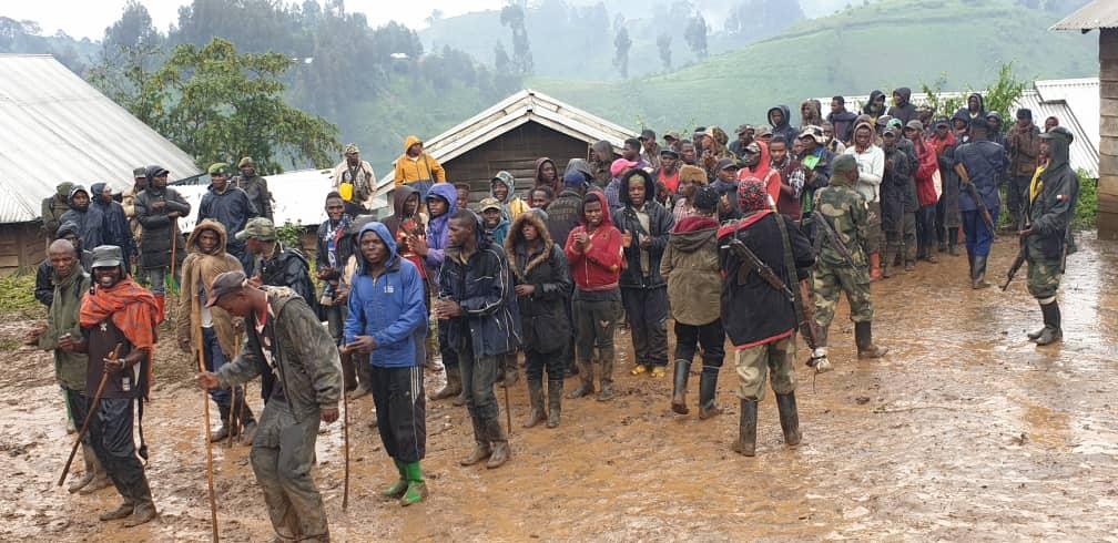 Kalehe : Plus de 100 éléments Nyatura se rendent aux FARDC