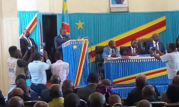 Nord-Kivu : Le Gouverneur Carly NZANZU présente l'édit budgétaire pour l'exercice 2020.