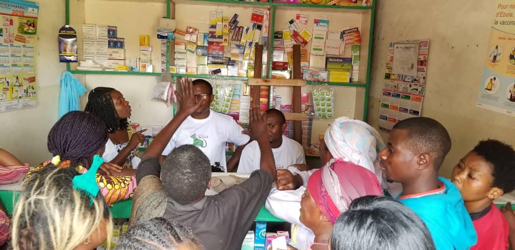 Goma : Au moins 100 malades vulnérables pris en charge par l'Asbl LIBOKE