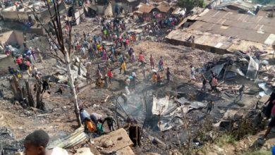 Photo of Bukavu : Un autre incendie emporte des maisons à Panzi