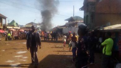 Photo of Mwenga : Des habitants en colère ce matin à Kamituga