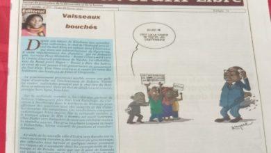 Photo of SUD-KIVU/BUKAVU : Le Souverain libre informe à travers sa plume exceptionnelle