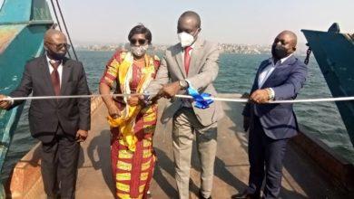 Photo of Bukavu : L'inauguration des travaux de balisage du lac kivu dans sa première phase sur le massif rocheux de nyamoma
